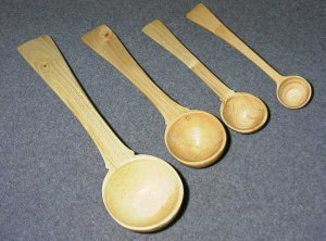 Wooden Spoons Turned